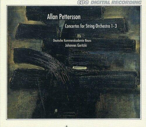 Johannes Goritzki - Concerti for String Orchestra 1-3 [New CD]