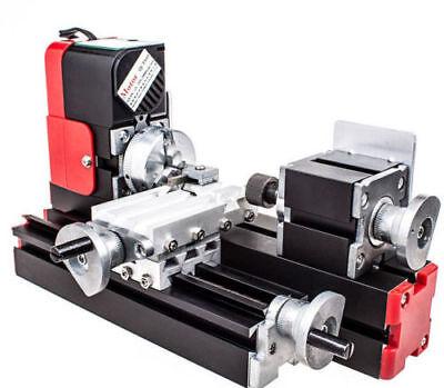 Us Mini Metel Lathe Diy Tool Metal Motorized Machine Educational Tools