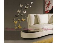 3D butterflies wall art , post or collect