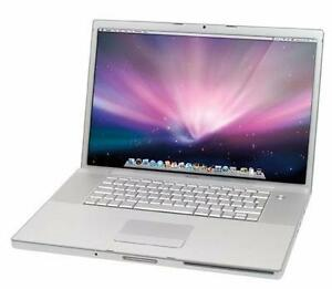 "Apple Macbook Pro 15"" A1150 Intel Core Duo 2ghz 320GB Hard Drive"