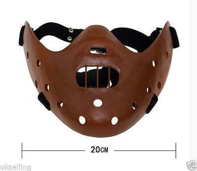 Resin Silence of the Lambs Hannibal Lecter Corffee Mask movie halloween - Hannibal Lecter Halloween