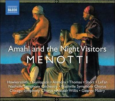 GIAN CARLO MENOTTI: AMAHL AND THE NIGHT VISITORS NEW