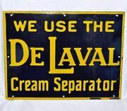 Cream Separator Sign