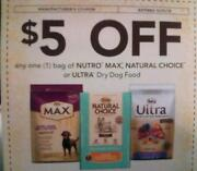 Nutro Dog Food Coupons