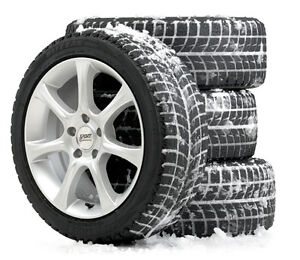 Snow Tires with Rims (4)