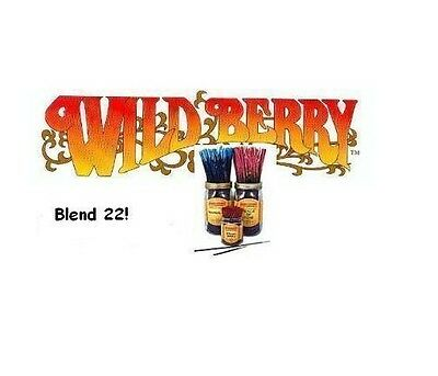Wild Berry 'Blend 22' Incense Sticks (pk10) (K66)