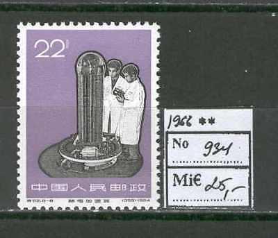 China 0018 Mnh 1966 Defs Science Cv 25 Eur