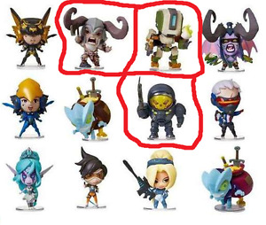 Blizzard Cute but Deadly series 2 Bastian, Barbarian, Raynor