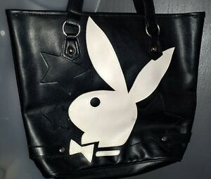 NWOT Playboy Black Shoulder Handbag