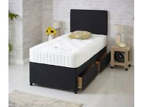 FREE DELIVERY TODAY MEMORYFOAM TWO Drawer Single Bed Mattress Headboard Double Bed Available