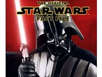 Star Wars Official Fact File - De Agostini issues 1-76 + 4 binders