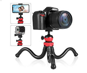 BRAND NEW Flexible Phone Tripod with Bluetooth Remote