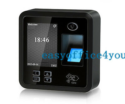 Small Size And Elegant Bio Fingerprint Access Controltime Attendance Terminal