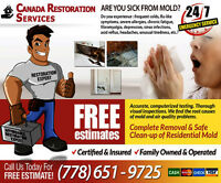 Mold Remediation Service-FREE Quotes