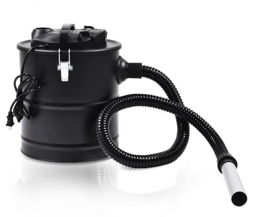 Ash Vacuum Cleaner 5.3 Gallon 1000 W Clean Fireplace ...