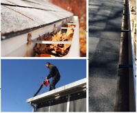 Eavestrough Cleaning - FREE ESTIMATES - Call us today!