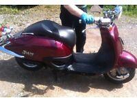 RARE Honda Joker SRX50 (Shadow) - Great bike for the summer!