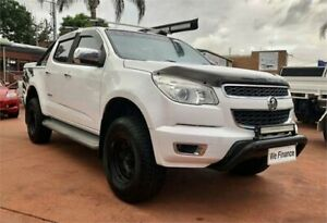 2014 Holden Colorado RG MY14 LTZ Storm (4x4) White 6 Speed Automatic Crew Cab Pickup Richmond Hawkesbury Area Preview