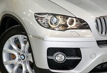 2009 BMW X6 E71 MY10 xDrive35d Coupe Steptronic Silver 6 Speed Sports Automatic Wagon Edgewater Joondalup Area Preview