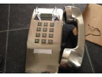 Next chrome wall phone for sale