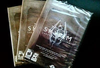 Selling 3 BRAND NEW, UNOPENED copies of Skyrim Legendary Edition