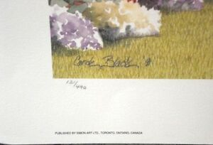 Carole Black-Saturday Morning-Signed Limited Edition Print Windsor Region Ontario image 4