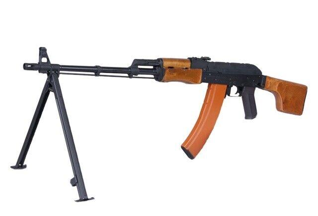 CYMA Standard RPK LMG Airsoft AEG Rifle w/ Steel Bipod and Real Wood Furniture