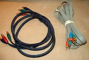 COMPONENT VIDEO CABLES $5 and up