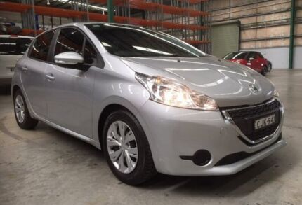 2012 Peugeot 208 A9 Active Silver 4 Speed Automatic Hatchback