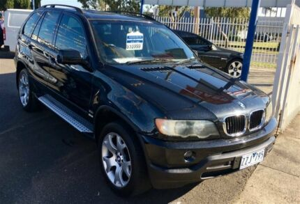 2003 BMW X5 E53 3.0I Black 5 Speed Auto Steptronic Wagon Dandenong Greater Dandenong Preview