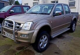 2004 Isuzu Rodeo 3.0 Double Cab for sale