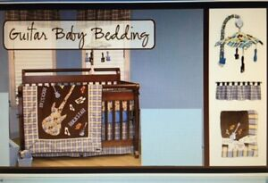 Crib Bedding Set - Rockstar Theme