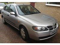 Nissan Almera 1.5 S Petrol 2005 cheap car runs and looks mint plenty of mot first to see will buy