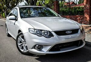 2009 Ford Falcon FG XR6 Silver 5 Speed Sports Automatic Sedan Medindie Walkerville Area Preview