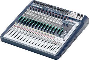 SOUNDCRAFT SIGNATURE 10 / 12 / 16 / 22 - NOW IN STOCK ! Mixer