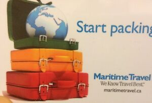Maritime Travel $500.00  Gift card for sale.