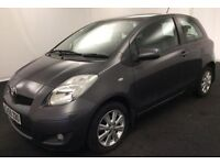2009 TOYOTA YARIS TR 1.3 VVTi LOW MILES TAX ONLY £30 URGENT SALE OPEN TO SENSIBLE OFFERS !