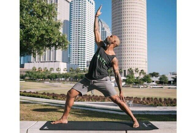 Gurus Natural Rubber Earth Yoga Mat - Misprint