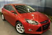 2013 Ford Focus LW MKII Sport PwrShift Red 6 Speed Sports Automatic Dual Clutch Hatchback Elizabeth Playford Area Preview