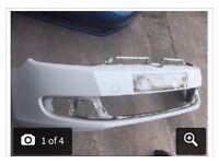 *VW golf mk6 front bumper complete*