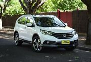 2013 Honda CR-V RM VTi-L 4WD White 5 Speed Automatic Wagon Medindie Walkerville Area Preview