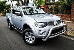 2011 Mitsubishi Triton MN MY11 GLX-R Double Cab Silver 5 Speed Sports Automatic Utility Medindie Walkerville Area Preview