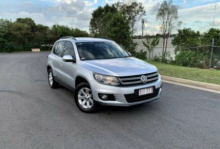 2014 Volkswagen Tiguan 5N MY14 103TDI DSG 4MOTION Pacific Silver 7 Speed Darra Brisbane South West Preview