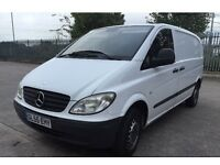 MERCEDES VITO CDI WHITE NEW 1 YEAR MOT 2005