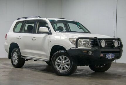 2008 Toyota Landcruiser VDJ200R GXL White 6 Speed Sports Automatic Wagon Welshpool Canning Area Preview