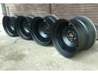 Bmw steel wheels 16 inch 9j & 10.5J !!!!