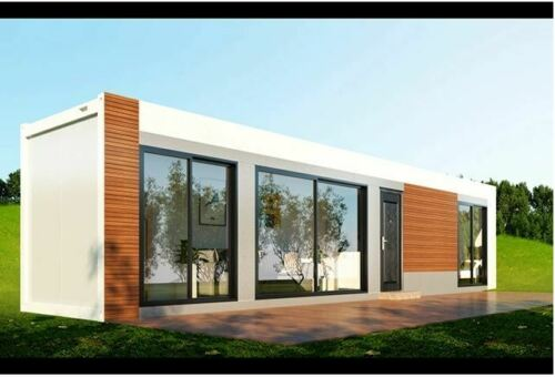 320 Sq Ft 1 Bd/1 Bth Modern Wood Accent Shipping Container Hm Financing Avail !!