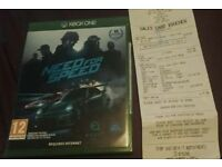 NEED FOR SPEED Xbox One *NEW*