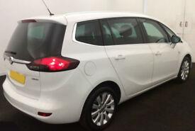 2014 VAUXHALL ZAFIRA TOURER 1.4 T SE GOOD BAD CREDIT CAR FINANCE AVAILABLE