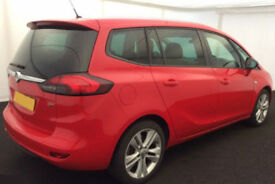 2014 VAUXHALL ZAFIRA TOURER 2.0 CDTI SRI GOOD / BAD CREDIT CAR FINANCE AVAILABLE